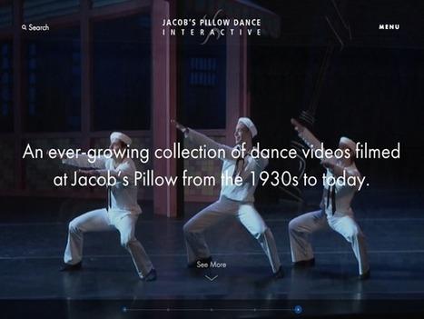 Jacob's Pillow Dance Interactive   The Art of Dance   Scoop.it