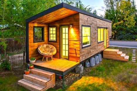 'Tiny House', la petite maison en bois à 25000€ qui fait un carton | IMMOBILIER 2015 | Scoop.it