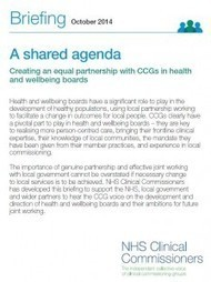 NHSCC - Report published to help realise the potential of local partnerships for the benefit of patients | Integrated commissioning | Scoop.it