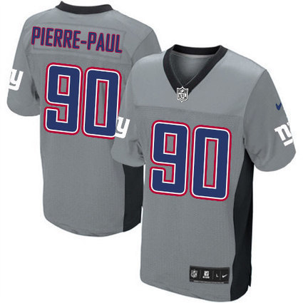 Cheap Official Grey Shadow Game Jason Pierre-Paul #90 Mens Jersey From Nike NFL New York Giants Shop | Giants Jerseys | Scoop.it