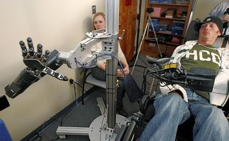 Brain linked to robotic hand; success hailed | Psychology and Brain News | Scoop.it