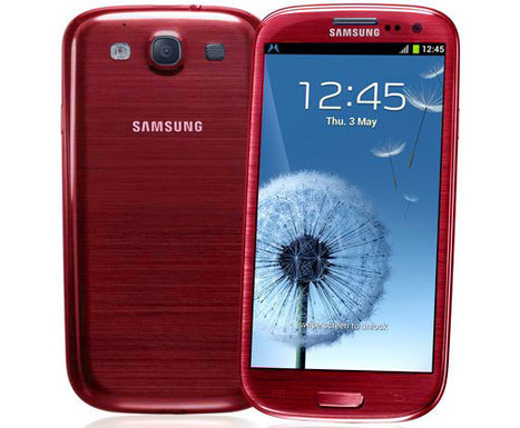 Red Samsung Galaxy S3 arrives in the UK - Inquirer | Samsung mobile | Scoop.it