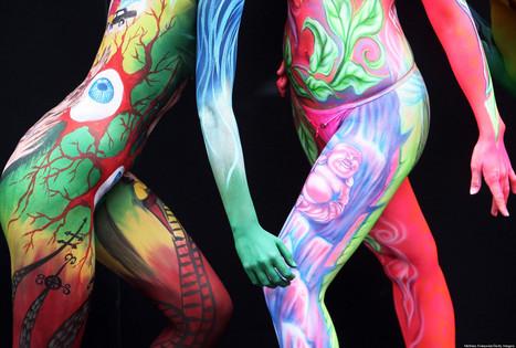 NSFW PHOTOS: 35 Stunning Body Paintings | Strange days indeed... | Scoop.it