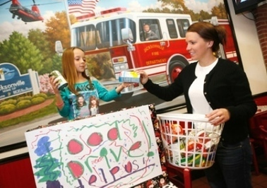 Area girl collects canned goods for contest to meet Justin Bieber - Jacksonville Daily News   Music Today   Scoop.it