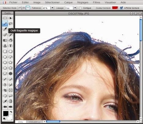 Comment supprimer le fond des photos | Retouches et effets photos en ligne | Scoop.it