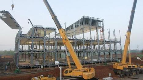 Edificios instantáneos en China: cómo construir seis plantas en nueve días | VIM | Scoop.it
