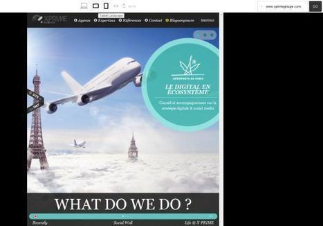 Tester en un clic si le design de votre site web est «responsive» | Time to Learn | Scoop.it