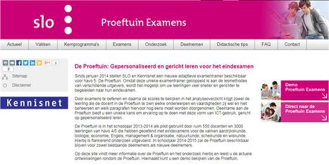 Proeftuin Linked data Examens en curriculum   ICT & Onderwijs   Linked Data   Scoop.it