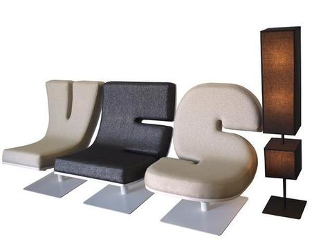 Typographic Furniture   Formidable ideas   Scoop.it
