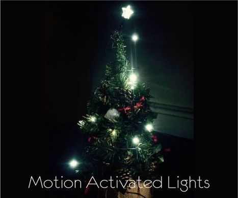 Motion Activated Christmas Lights | Raspberry Pi | Scoop.it