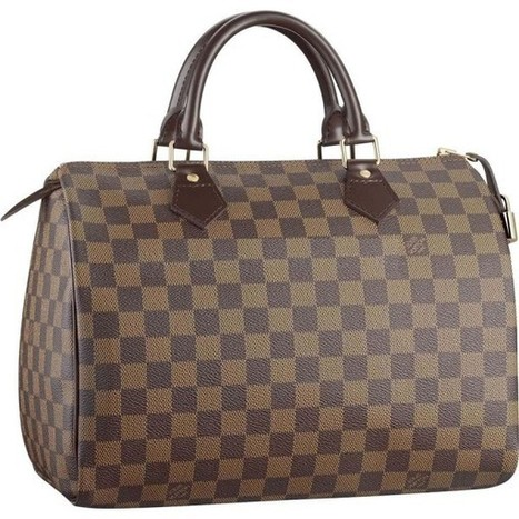 Louis Vuitton Outlet Speedy 30 Damier Ebene Canvas N41531 Handbags For Sale,70% Off | Louis Vuitton Taschen | Scoop.it