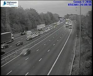 Delays on M6 near Haydock after four car crash | Welfare, Disability, Politics and People's Right's | Scoop.it