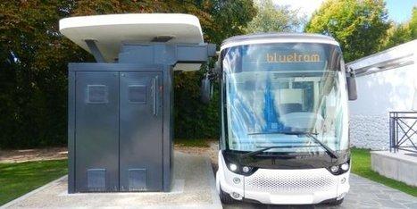 """#Bluetram: le """"tramway"""" électrique qui sillonnera pour deux mois les Champs-Elysées #COP21 @   Electromobilité   Scoop.it"""