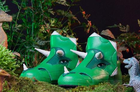 Les sneakers tricératops de Archaix Laboratories LLC. - madmoiZelle.com | Le monde de la chaussure.Cap-k, des chaussures pour le dos. | Scoop.it