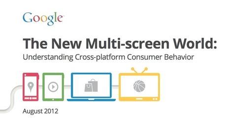 L'étude de Google sur le multiscreen | Research & Insight | Scoop.it