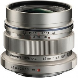 Buy Olympus M.ZUIKO DIGITAL ED 12mm f/2.0 Lens (Silver) | Electronic Bazaar AU | Digital-Camera | Scoop.it