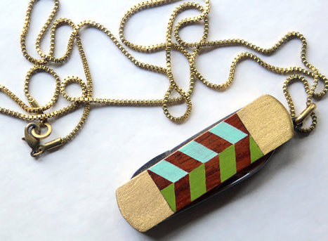 Vintage Pocket Knife Necklace | Geeky Creations | Scoop.it