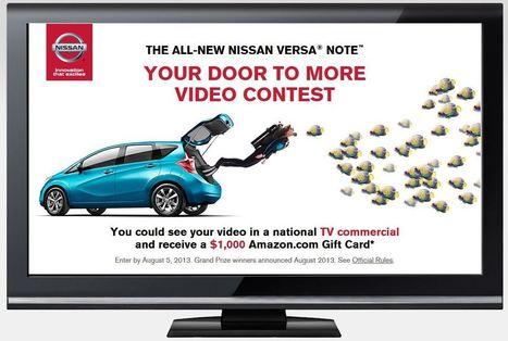 Nissan Versa Video Contest On Instagram, Vine | Contests and Games Revolution | Scoop.it