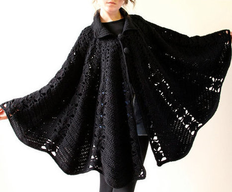 60s Mod Crochet Cape | What I like to do | Scoop.it