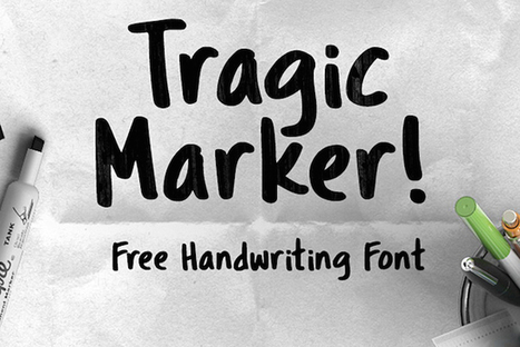15 Free Handwriting Fonts You Should Download Now | Some pages | Scoop.it