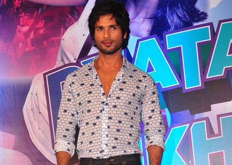 Shahid Kapoor to start dubbing for R...Rajkumar | Metaglossia: The Translation World | Scoop.it