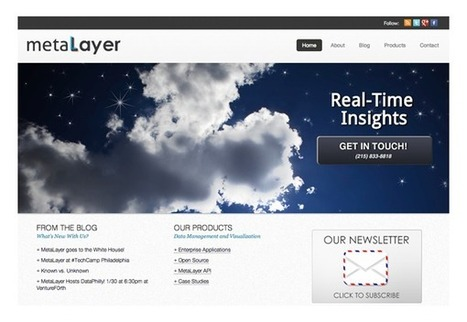 MetaLayer - Big Data Startups | Data Visualization Scientist | Scoop.it