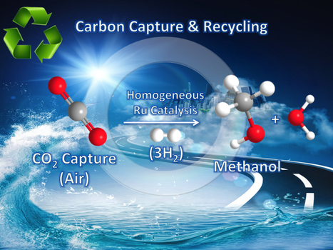 Carbon dioxide captured from air converted directly to methanol fuel for the first time | Fragments of Science | Scoop.it