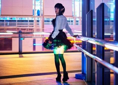 Japon : il conçoit des jupes qui illuminent les cuisses des utilisatrices ! | Farfeleusement Vôtre | Scoop.it