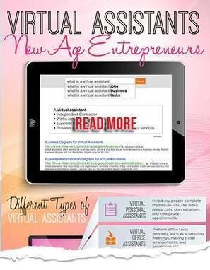 Virtual Assistants - The New Age Entrepreneurs | Career Fields | Scoop.it