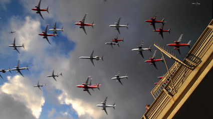 A Composite Time-Lapse of 90 Airplanes Taking Off in 30 Seconds   Digital-News on Scoop.it today   Scoop.it
