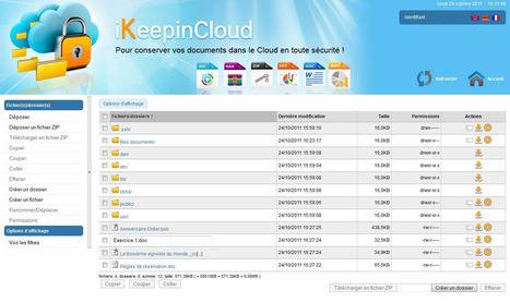 iKeepinCloud : Une solution française de stockage en ligne | Éducation aux médias | Scoop.it