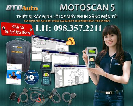 Máy đọc lỗi xe máy Motoscan | Máy ra vào lốp | Scoop.it