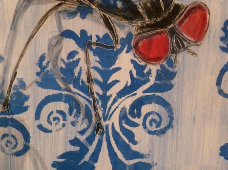 Alice Bertrand, Les invités (détail), 2012 | L'art contemporain exposé en milieu rural | Scoop.it
