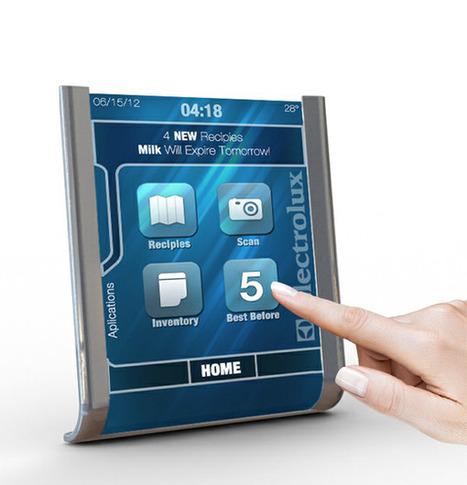 Electrolux Tablet - Kitchen Assistant by Dakoda Reid   Gadgets I lust for   Scoop.it