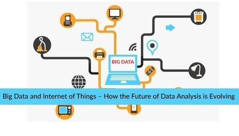 Big Data and Internet of Things – How the Future of Data Analysis is Evolving -Big Data Analytics News | Mobile Apps, Web Design & IoT | Scoop.it