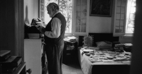 Hemingway Takes the Hemingway Test - New Yorker (blog) | Reading and writing | Scoop.it