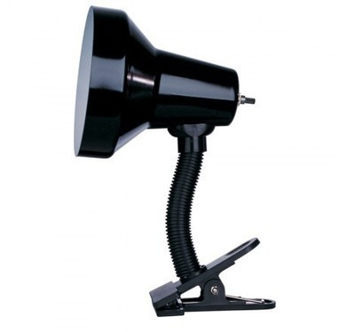 Dainolite DXL16-BK Clip-On Lamp Gloss Black Finish | Filme solo do Mestre Yoda | Scoop.it
