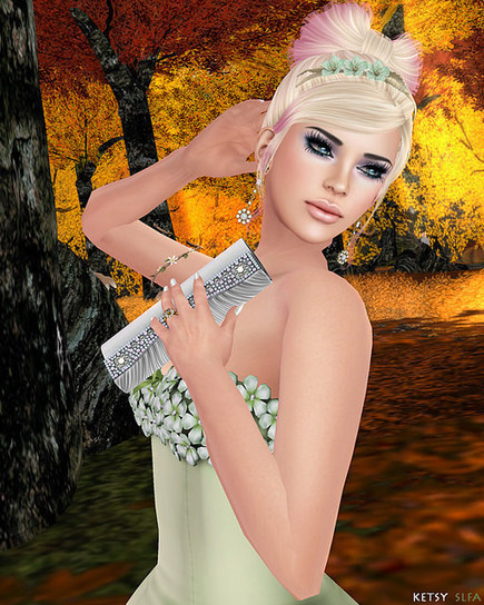 Second Life Fashion Addict: Hair Fair - Honey Blossoms | SL Fashion Addicts Anonymous | Scoop.it