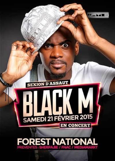BLACK M sera à Forest National le 21 février 2015 #WatiB | CHRONYX.be : we love urban events ! | Scoop.it