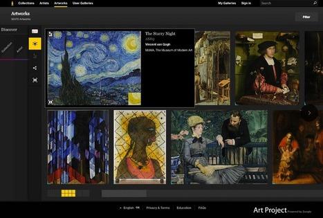 Transformation numérique : les musées français passent à l'action   Ressources d'images pour les arts plastiques   Scoop.it