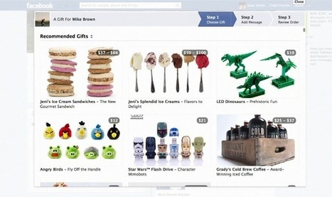 Facebook entend bien persévérer dans le e-commerce avec son application Gifts | CommunityManagementActus | Scoop.it