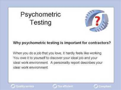 Psychometric Assessment Test | Employment Topics | Scoop.it
