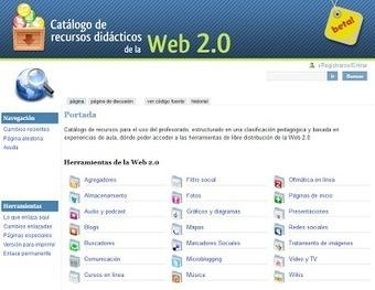Educació i les TIC: Catálogo de recursos didácticos de la Web20 ... | a por el b2!! | Scoop.it