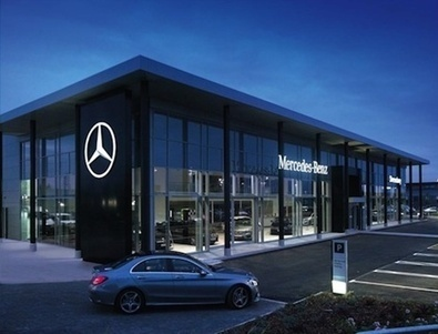 Mercedes-Benz aims for brand consistency as it revamps showrooms with new corporate ID   Marketing Automobile ( marketing, business et strategie)   Scoop.it