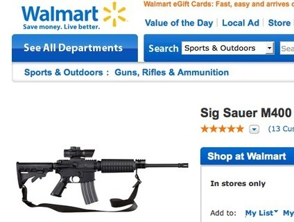 Walmart Sells Assault Weapons But Bans Music With Swear Words | Flash Business & Finance News | Scoop.it