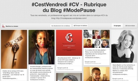 [Pinterest] Intéressante utilisation de Pinterest à suivre | Communication - Marketing - Web_Mode Pause | Scoop.it
