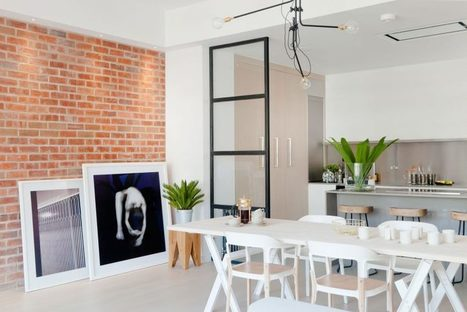 "Renovated London Penthouse Exudes ""New York Loft"" Feel - Freshome.com 
