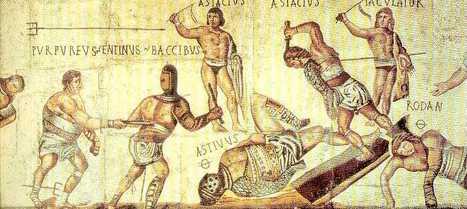 Gladiadores Romanos - La actualidad de la Historia | Ave Caesar, morituri te salutant! | Scoop.it