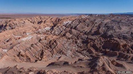 Chile: los atrapanieblas que capturan agua en Atacama, uno de los lugares más secos del mundo - BBC Mundo | Educacion, ecologia y TIC | Scoop.it