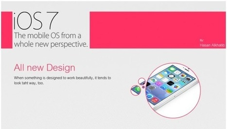 List of Trendy and Impressive Features of Apple's New iOS 7 - | Apple | Scoop.it